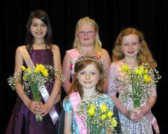 Carnival Queen, Princess and Attendants photo